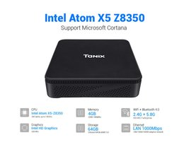 mini pc android dual core Coupons - Tanix TX85 Mini PC Windows 10 for Intel Atom X5-Z8350 TV Box 4G 64G Memory 2.4G+5.8G Dual Wifi Set Top Box for Xiaomi Android