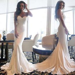 2019 tuxedos especiales Sexy correas espaguetis sirena vestidos de baile 2019 Vintage Barato Tuxedos de noche Robe de veir Vestidos para ocasiones especiales tuxedos especiales baratos