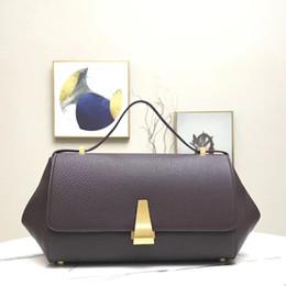 2019 kalbslederhandtaschen Die neue BV ANG Cloud Tintenfischtasche Bogentaschen Trapeztasche aus Kalbsleder Schultertasche Diagonaltasche Handtasche Clutch Bags groß 43cm klein 36cm