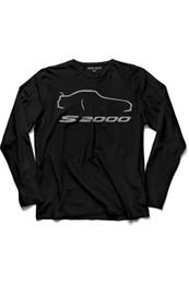 Гоночные автомобили онлайн-Кендим Сечтим: Я сам выбираю футболки с длинным рукавом Honda S2000 S 2000 Auto Race