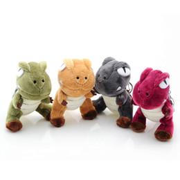 Neonato del pendente online-Dinosauro di peluche con pendenti Tyrannosaurus Toy Dinosauro di peluche pendenti giocattoli Simpatici animali di peluche Baby Kids Ragazzi Giocattoli per bambini Regalo