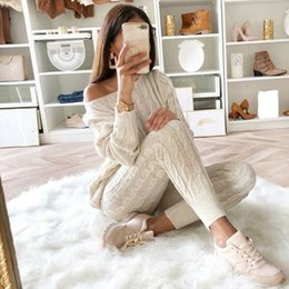 Two Piece Sweater Sets Women Canada Best Selling Two Piece Sweater
