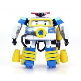 2019 fernbedienung roboter auto spielzeug Verwandeln Silverlit Diver Roboter Poli elektrische Fernbedienung Auto einfache Deformations-Roboter Kind Robot Boy Toy 3-6T 04 günstig fernbedienung roboter auto spielzeug