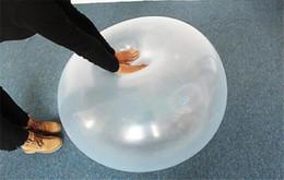 Venda quente Transparente Elástico Bolas de Água Balão De Água Inflação Bola Bola de Praia Crianças Piscina Gramado Brinquedos Livre DHL de