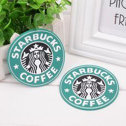 Capa térmica on-line-Silicone Coasters Dobrável Copo De Chá thermo capa de Almofada Titular Starbucks sea-maid xícara de café Pads 3 cores