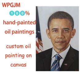 pittura ad olio su tela su misura, 100% dipinto a mano ritratti individuali, coppie foto, foto di famiglia, manifesti celebrità, arte della parete da