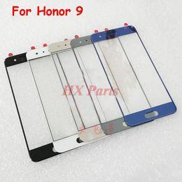 2019 huawei сенсорное стекло Оригинальный Новый Для Huawei Honor 9 Замена Внешнего Стекла ЖК / Сенсорный Экран Переднее Стекло Крышка Объектива Запчасти дешево huawei сенсорное стекло