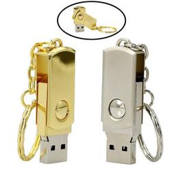 2019 usb-flash-laufwerk höchste kapazität Pendrive Metal Keychain USB Flash Drive 64 GB 32 GB 16 GB 8 GB Pen Drive Hochgeschwindigkeits-USB-Speicherkapazität günstig usb-flash-laufwerk höchste kapazität