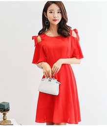 a142a39df53ad Summer dress women clothing bodycon dress Korean cute Hollow Out short  sleeve red black dress fashion girl Vestidos