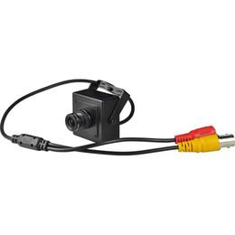 """Colore cmos cablato fotocamera online-Mini analogia Camera 1/3 """"di macchina CMOS a colori ad alta risoluzione reale casa coperta Surivellence Analog Camera di sicurezza Wired"""