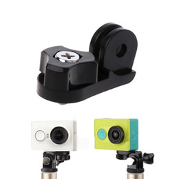 штативы Скидка Tripods Accessories for camera 1/4inchTripod Mount Adapter Bicycle Holder Monopod Converter for Go pro Hero Camera dropshipping