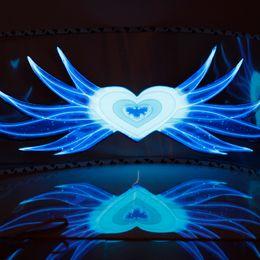 90 * 25 cm Equalizador Do Ritmo Da Música etiqueta do carro EL folha de Luz da lâmpada Equalizador para janela Ângulo Alma chari ... de