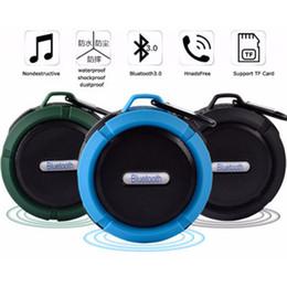Скачать mp3 онлайн-Мини-динамик Продвижение Водонепроницаемый динамик для душа Синий зуб для MP3 / MP4 Играя в компании с тобой Кемпинг езда на велосипеде музыка