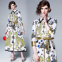 il vestito promana il leopardo Sconti Vestito lungo da Maxi Abito da sera elegante con stampa cardigan con stampa a cardigan Abito da donna elegante con stampa ufficiale da ufficio 3382