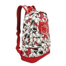 2019 olá kitty bolsas para crianças Nova hello kitty e minha melodia meninas dos desenhos animados mochilas escolares crianças mochila para crianças desconto olá kitty bolsas para crianças