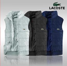 Polo pour hommes en Ligne-Marque des hommes 2019 nouvelle livraison gratuite, nouvelle veste pour hommes en coton PoLo sans manches top XL veste de gilet pour hommes matelassé, XL-4XL 1282 #