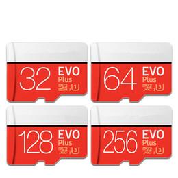 2019 samsung 256 gb Tarjeta de memoria 32GB 64GB 128GB 256GB Nueva tarjeta micro sd EVO PLUS Class10 UHS-1 Velocidad de lectura 100M / S Microsd para tableta Smartphone