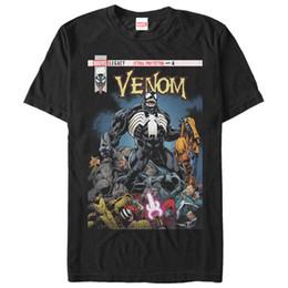 Maravilha Venom Letal Protetor Pilha Mens Camisa Gráfica T Preto T M 234XL F170 Dos Desenhos Animados t shirt homens Unisex Nova Moda cheap pile shirts men de Fornecedores de homens camiseta