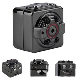 Deportes hd tv online-Mini cámara SQ8 Micro DV Camcorder Action Night Vision Digital Sport DV Inalámbrico Mini Voice Video TV Out Cámara HD 1080P 720P Envío gratis
