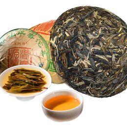 Marrom velho on-line-Saúde chinês Puer chá 250g Raw Puer Tea Green Mountain Brown Early Spring Old Puerh Pu er Puerh Red Green Food Tea