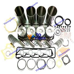 Kit de reconstrução 4TNE98 revisão com pistão de direção para motor diesel Yanmar 4TNE98-SNM2 4TNE98-TB 4TNE98-TBW 4TNE98-AGN 4TNE98-TBL de Fornecedores de motores yanmar