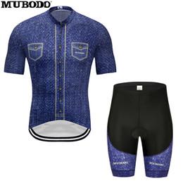 Suspensórios ao ar livre on-line-Novo verão ciclismo Jersey terno com suspensórios esportes ao ar livre roupas de bicicleta 2019
