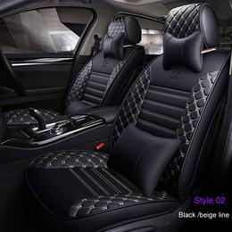 Toyota rav4 крышка автомобиля онлайн-Роскошная искусственная кожа новые автомобильные чехлы на сиденья для Toyota C-HRCorolla Camry Rav4 Auris Prius Yalis Avensis внедорожник авто аксессуары для интерьера