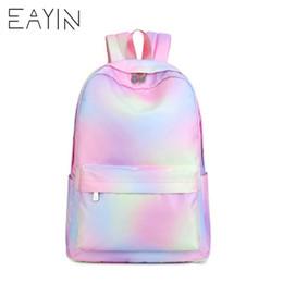 8d551e2feb51 EAYIN Korean Style Backpack Female Fashion Tunic Women Backpacks Trendy  Canvas Waterproof Backpack for Girls mochilas feminina Y18110202