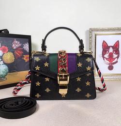 1dd5cf67ce Sacs à bandoulière de luxe femmes Marque Bee Star mini sac en cuir mode  designer sac à main Taille 20 * 14 * 8 cm modèle 47027001 sacs à main  étoilés pas ...