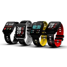 yellow smart watch Coupons - K10 Smart Watch IP68 Waterproof Smartwatch Men Heart Rate Monitor Blood Pressure Fitness Tracker Smart Bracelet Smart Band for IOS android