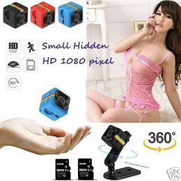 SQ11 HD мини Камера небольшая камера 1080P Датчик Видеокамера ночного видения Микро видеокамера DVR DV Видеокамера SQ 11 Автомобильный видеорегистратор cheap smallest video от Поставщики наименьшее видео