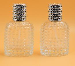 garrafas de vidro especiais Desconto Especial abacaxi 30 ML Portátil De Vidro Transparente Garrafa De Perfume Atomizador Spray de Perfume Garrafas Recarregáveis Perfume Vazio Parfum Caso Para O Viajante CZ216