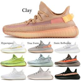 the best attitude ef867 3b7e4 2019 mujeres yeezy impulso Adidas Yeezy Boost 350 v2 Shoes Clay V2  Zapatillas de running Forma