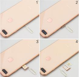 telefones clonados por atacado Desconto Leitor de cartão de acessórios do telefone móvel para o cartão SIM Android da Apple Leitor de cartão de aço inoxidável