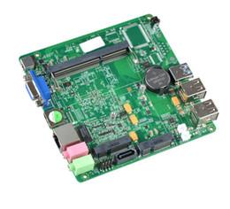 Mini placa base integrada de doble red Gigabit micro vehículo industrial control industrial pequeña desde fabricantes