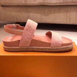 03caf96617625b ODYSSEY Sandal New Arrivals Luxury Latest Women Flat Designer Sandals Size  35-40 3 Color Model YJ03