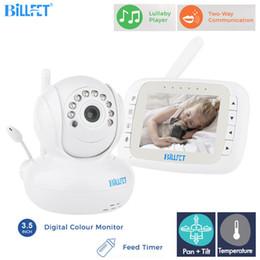 Caméra à distance ptz en Ligne-Moniteur bébé sans fil AudioVideo avec caméra 3.5 pouces moniteur LCD télécommande enfants surveillance caméra PTZ NightVision Videoana