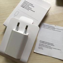 einzelverkauf iphone 5s aufladeeinheit Rabatt 100 stück neueste verpackung box a1400 a1385 eu uns ladegerät 5 watt 5 v 1A hause adapter lade netzteil für 7 7 plus 6 s 6 5 s 5 mit kleinkasten