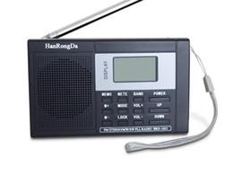 lettore mp3 al litio Sconti Display LCD sintonizzatore digitale fm a banda larga portatile all'ingrosso della fabbrica facile da usare Numero di memoria radio 60