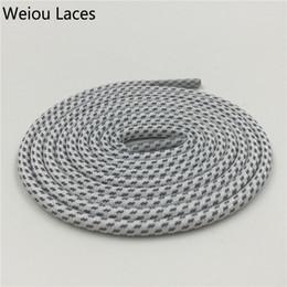 Magia del merletto della scarpa online-Weiou creativo nuovo merletto Design riflettente Lacci White Magic 3M corda Laces Sport Abbastanza Shoestring Per Scarpe Boots V2