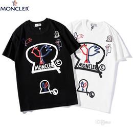 2019 черная белая одежда для хип-хопа Модные футболки для мужчин Хип-хоп Хлопок Мужская одежда Футболка с круглым воротом миллиардер Мужские топы Лето с коротким рукавом черная белая рубашка футболка дешево черная белая одежда для хип-хопа