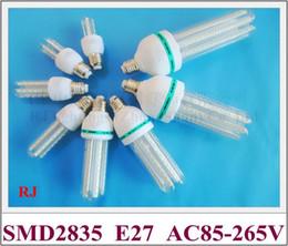 ampoule led bleu froid Promotion Ampoule LED de maïs E27 SMD 2835 ampoule de maïs LED lampe lumière 3W 5W 7W 9W 12W 16W 24W 36W AC85-265V E27 CE prix élevé usine lumineux
