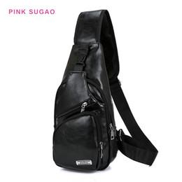 sacchetto esterno impermeabile del corpo trasversale Sconti Rosa Sugao impermeabili a tracolla degli uomini borse petto casuali all'aperto borse da viaggio borsa a tracolla alta sacchetti dell'unità di elaborazione del corpo croce