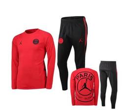 top 2018/19 chaqueta con capucha Jordam X PSG Champions League Survetement 18/19 PSG MBAPPE chaquetas de fútbol POGBA soccer desde fabricantes