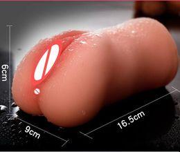 Grande garota do sexo brinquedo on-line-Super Realista Artificial Big Ass Bonecas Menina Compacto Vagina Buceta Canal Masturbação Copo Masculino Masturbadores Sex Toy