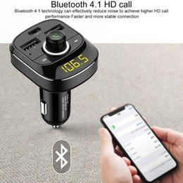 free digital kits Promo Codes - Hands Free Car Kit Wireless Bluetooth FM Transmitter Smart MP3 Player LED Digital Display Dual USB Car Micro SD TF Music Player