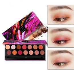 2019 beste concealer dunkle kreise Schönheits-Augen-Make-up Lidschatten 18 Farben-Augenschatten Strukturierter Lidschatten-Palette Mattschimmer Nude Schatten