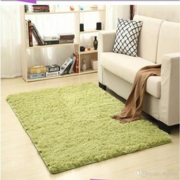 living room mats rugs Coupons - Hot Sale Non-slip Carpet Fluffy Rugs Anti-Skid Shaggy Area Rug Dining Room Home Bedroom Carpet Living Room Carpets Floor Yoga Mat