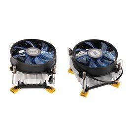9cm fan Coupons - 2Pcs Aluminum 9cm CPU Cooler with Cooling Fan Radiator Heatsink for LAG 1366