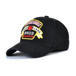 D2 ICON Hip Hop boné de basquete Snapback Chapéus de Marca de designer de Estilo da Bandeira do Canadá Chapéu para Mulheres Dos Homens Bonés Casquette chapéus Carta Bordados Gorras de